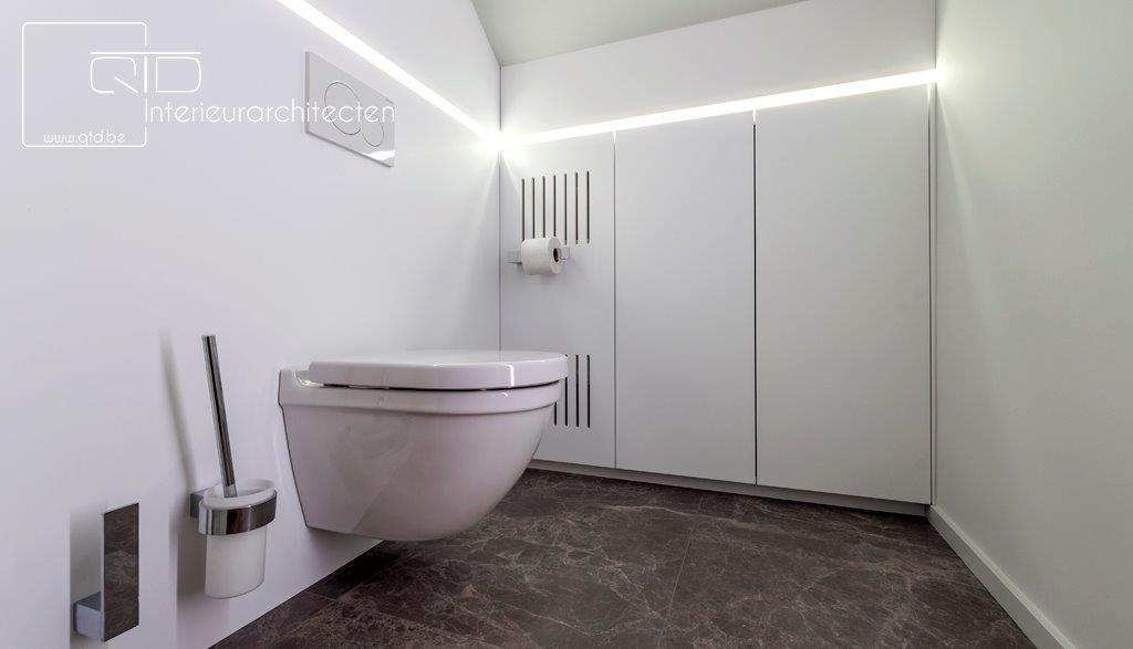 Renovatie badkamer Hi-Macs