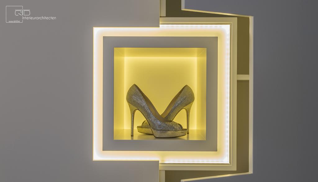 Schoenen Moderne Dressing op Maat | Meubelmakerij Ceulemans Lier