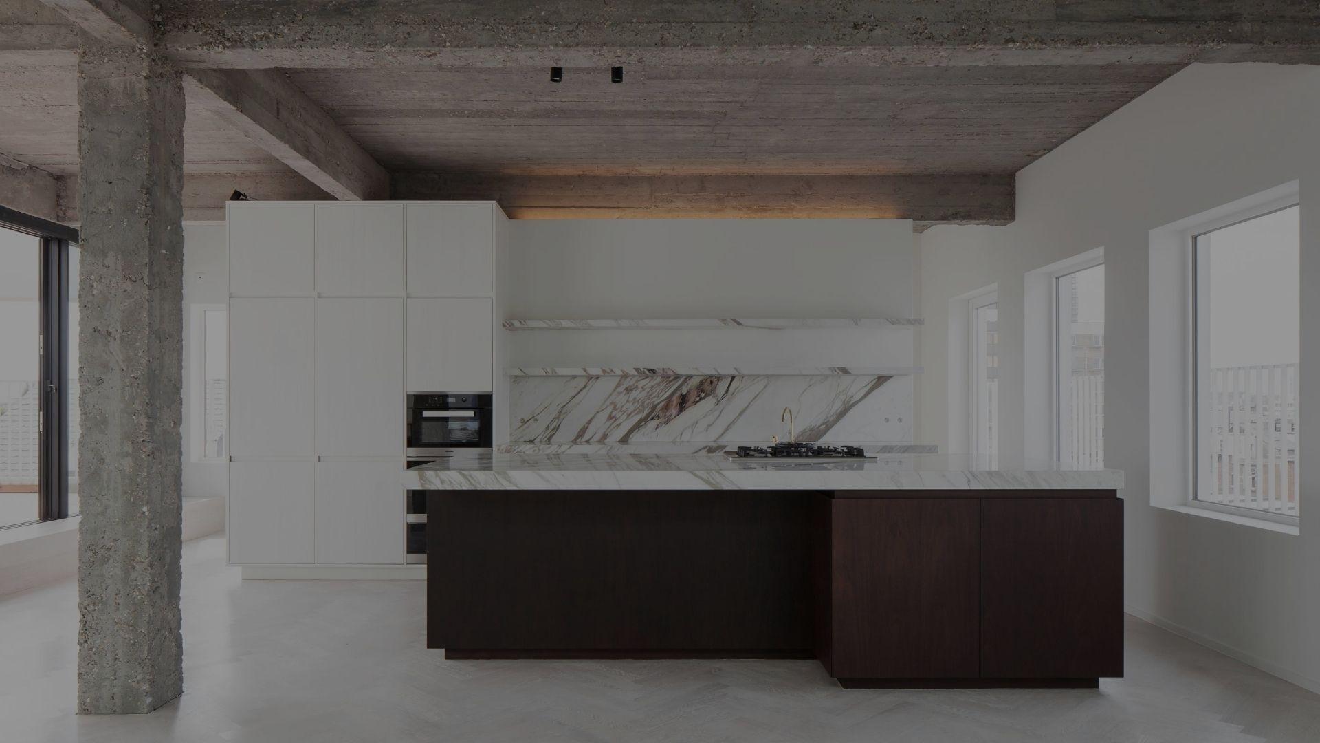 ceulemans meubelmakerij schrijnwerkerij lier keuken wit